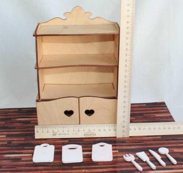 Кухонный шкаф с начинкой
