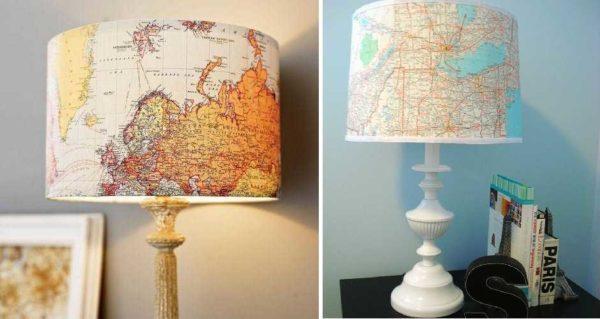 شما می توانید نقشه های جغرافیایی را استفاده کنید