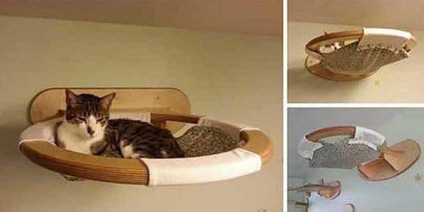 Wall Hammock - Praktisk og sikker (til katte og katte)