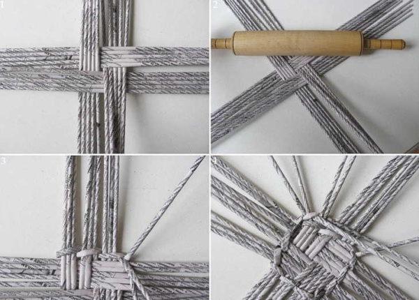 正方形の製品のための正方形織物