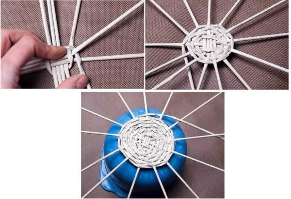 新聞チューブの丸底を洗い流す方法