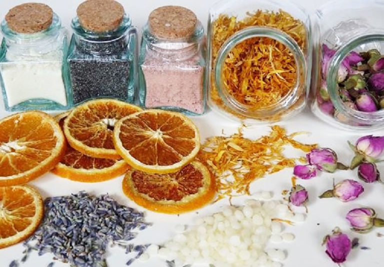 Supplementen voor zeep