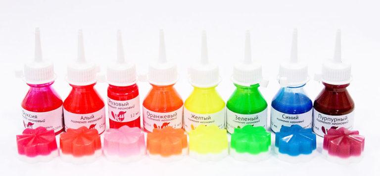 Kleurstoffen voor zeep