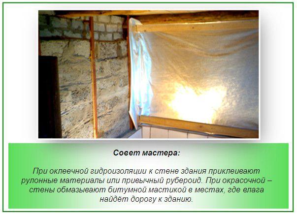 Kylpyammeen seinien vedeneristys