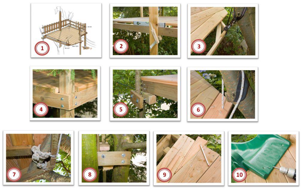 Làm thế nào để xây dựng một ngôi nhà trên cây