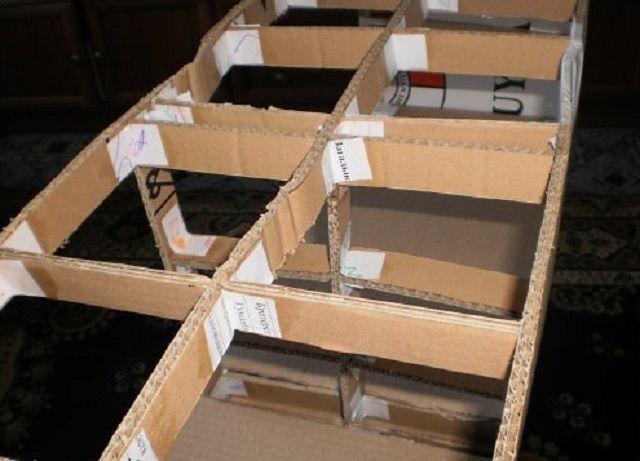 Estrutura interna pode ser aprimorada com jumpers de papelão densos