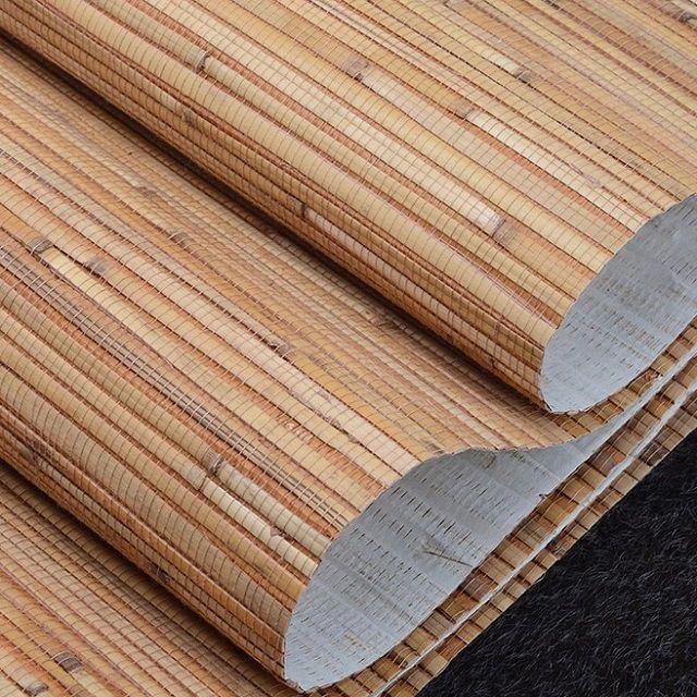 Zeer ongebruikelijke bamboevezelbehang