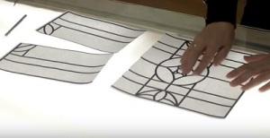 Контурды толтыру техникасында орындалады