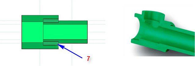 PP 파이프의 용접 용접 원리, 방식 번호 4의 원리