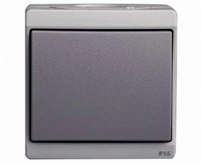IP55 konut koruma sınıfı ile havai geçiş. Bu, sokakta veya bodrum peynirinde bile kurulabilir.