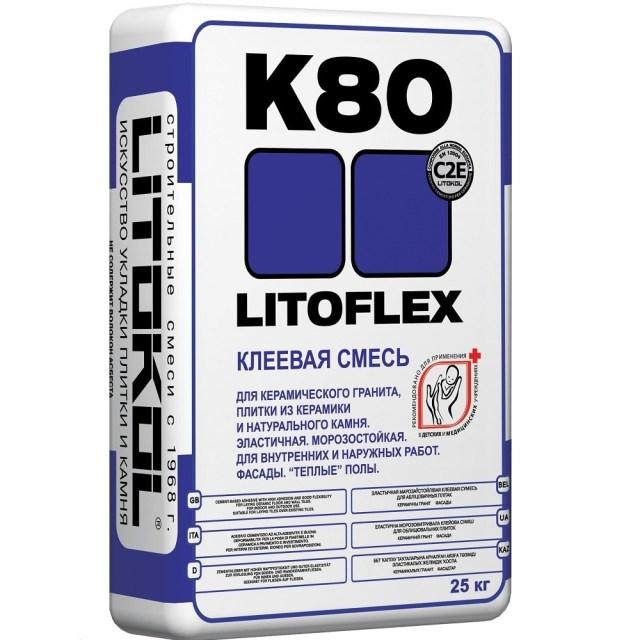 Клеевые составы для керамогранита. Выбор клеевого состава в зависимости от условий использования Litokol Litoflex k80 Строительный портал