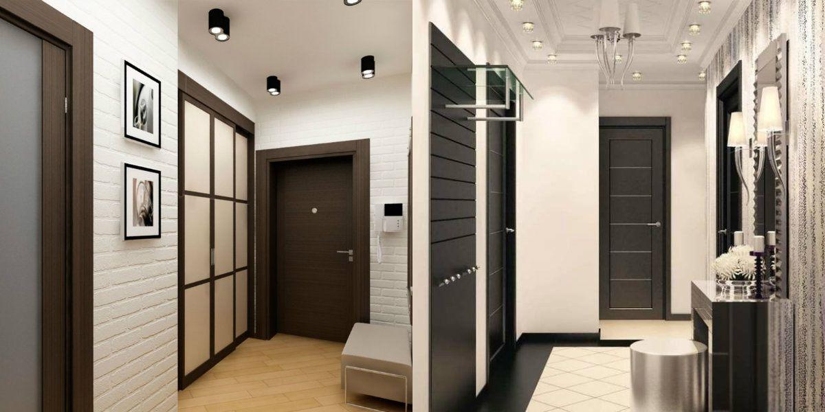 дизайн коридора в квартире 2018 1
