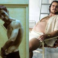 Как похудел Кристиан Бейл?
