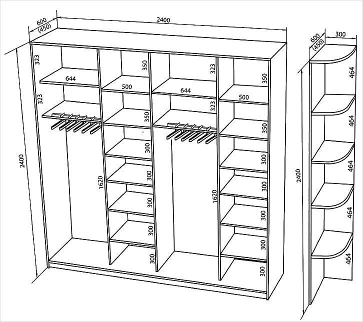 6855a777 Diagrammene viser ulike muligheter for prosjekter og teknologi for  montering av møbler: