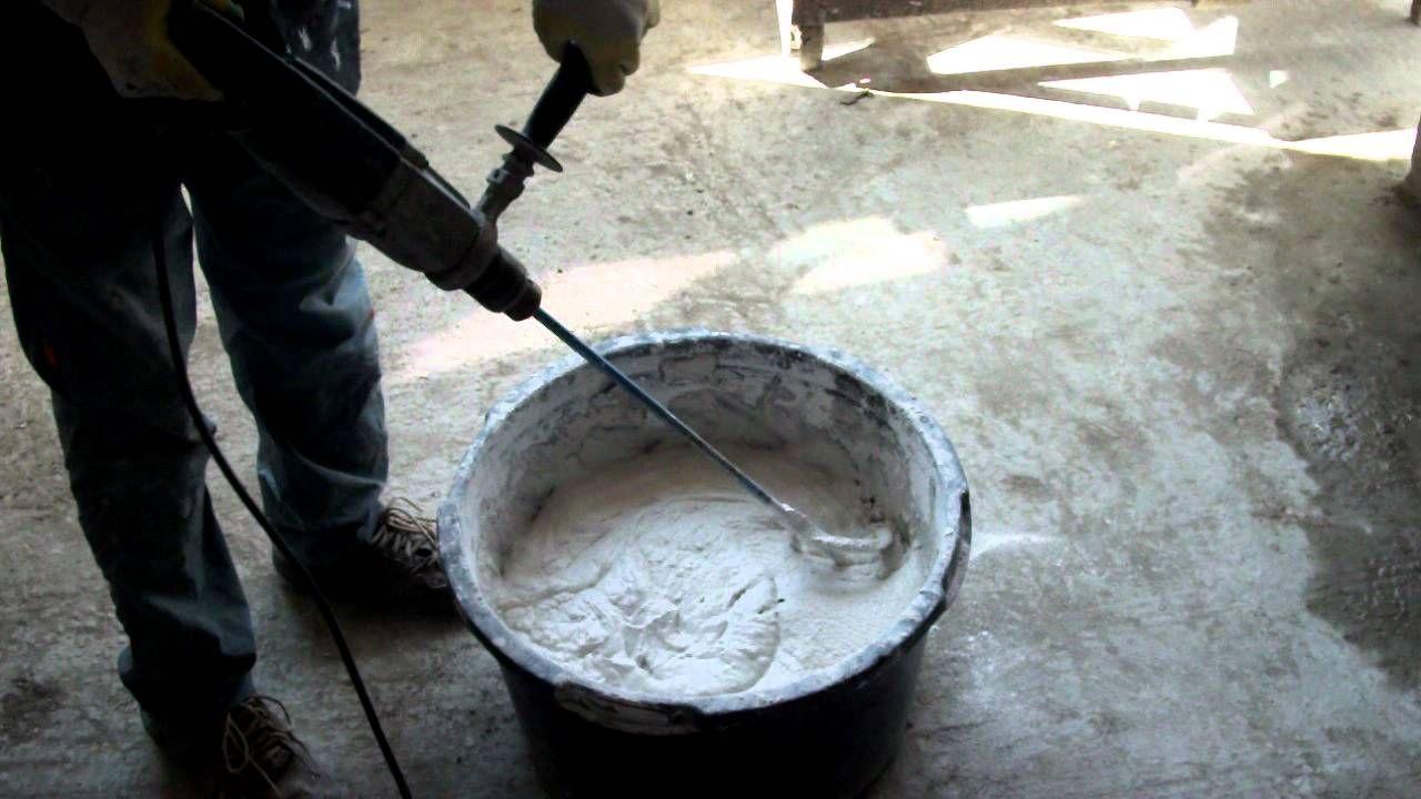 как приготовить раствор цемента для штукатурки