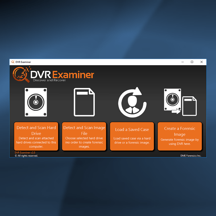 Forensic DVR Data Recovery with DVR Examiner