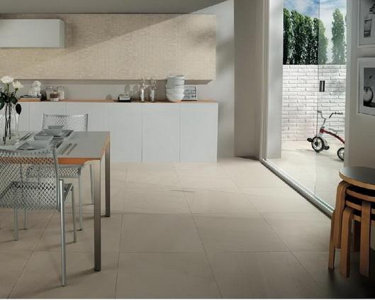Bodenfliesen matt Küchenbereich