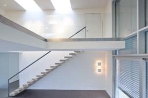 Glaswand Treppe