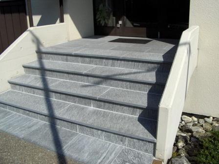 Naturstein Treppen Außenbereich Innenbereich