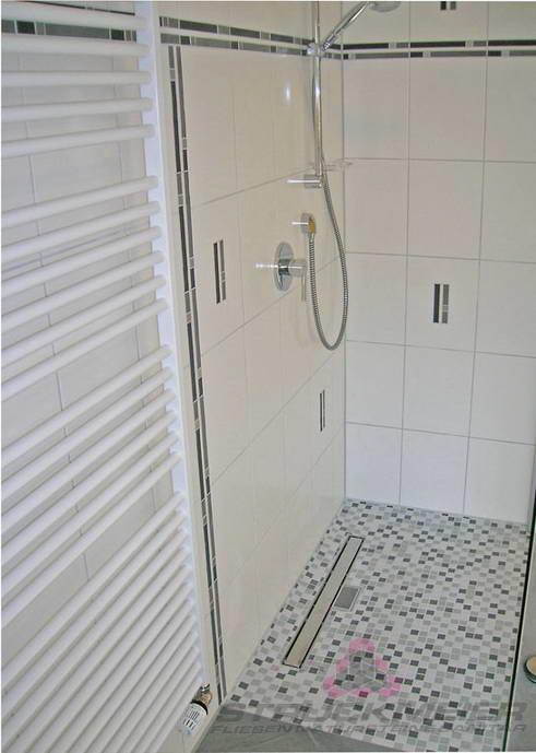 Dusche Bad Badezimmer Wandfliesen