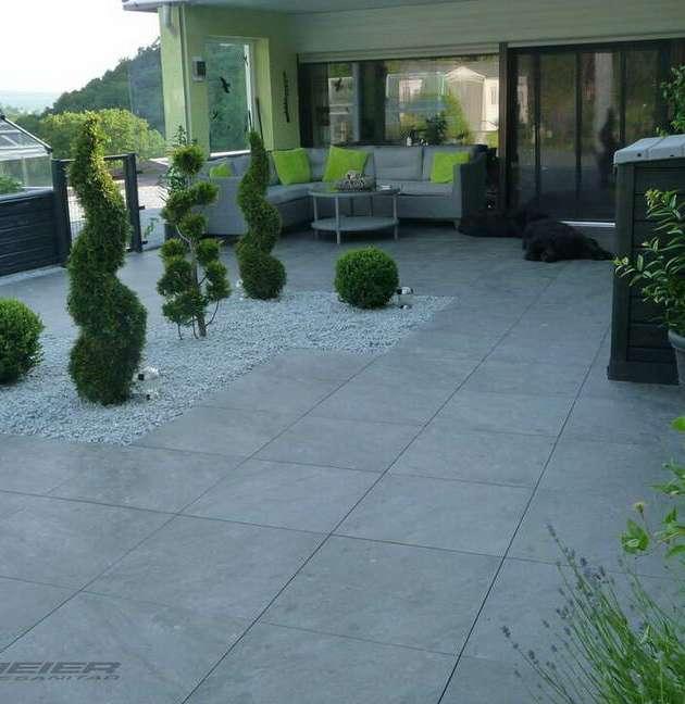 Terrassenplatten Terrasse Balkon Außenbereich