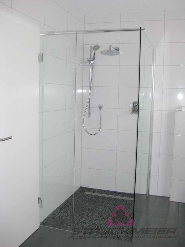 Dusche Bodenfliesen Wandfliesen Badezimmer Bad