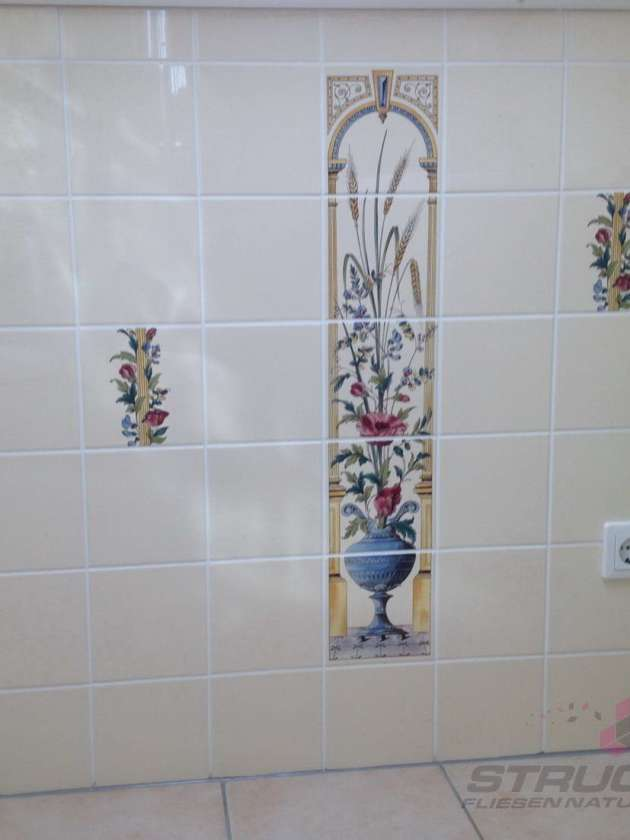Badezimmer Bad Wandfliesen Dekor