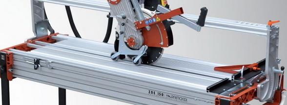 robuster Nassfliesenschneider und Steinschneider ZOE 150