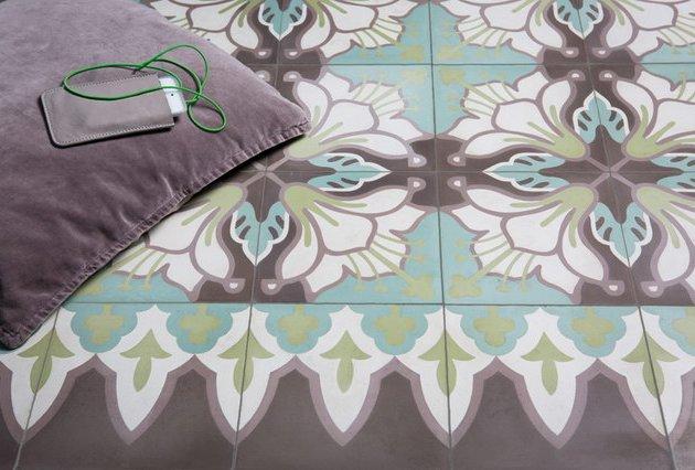VIA Zementmosaikplatten Wohnzimmer