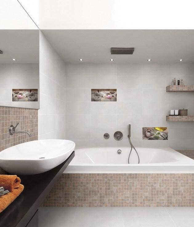 modernes Badezimmer mit Waschtisch