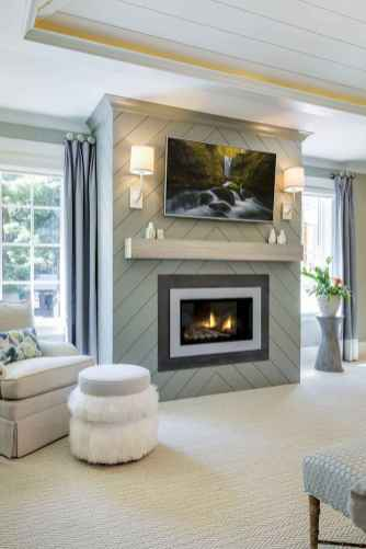 03 small fireplace makeover decor ideas
