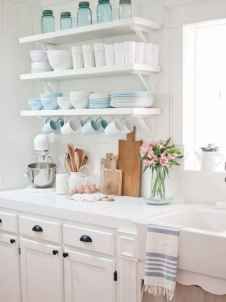 05 rustic kitchen decor with open shelves ideas