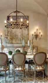 34 fancy french country dining room decor ideas