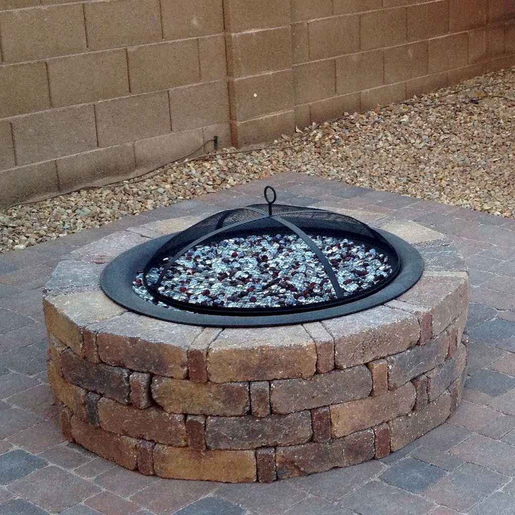 35 easy diy fire pit ideas for backyard landscaping
