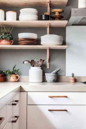35 rustic kitchen decor with open shelves ideas