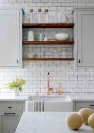 36 rustic kitchen decor with open shelves ideas