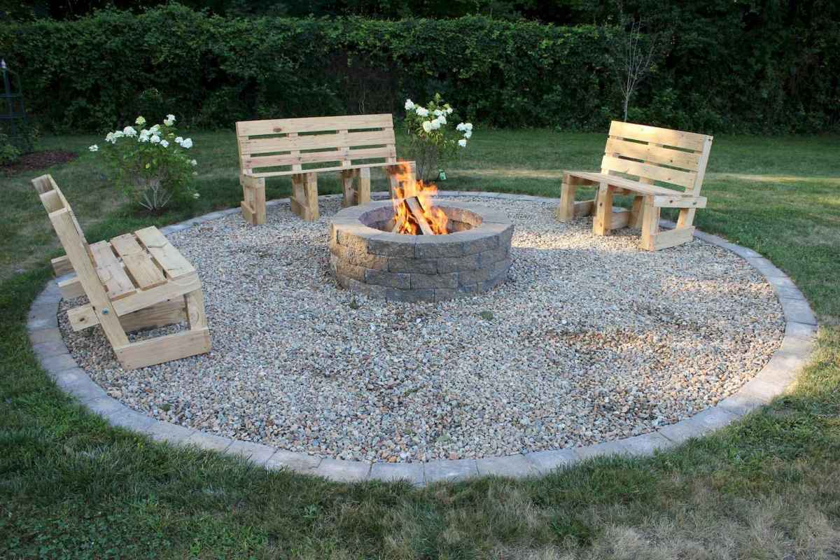 39 easy diy fire pit ideas for backyard landscaping
