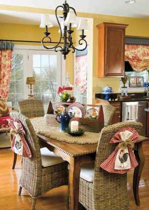 41 fancy french country dining room decor ideas
