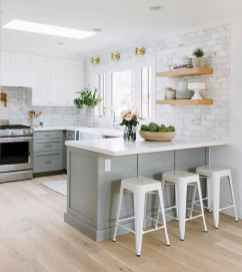 43 rustic kitchen decor with open shelves ideas