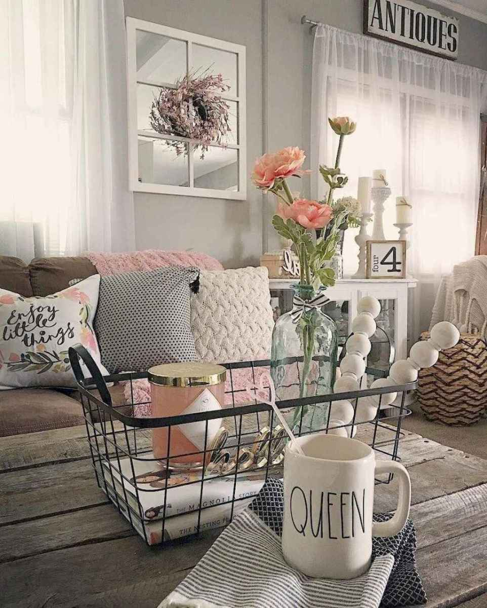 45 shabby chic living room decorating ideas