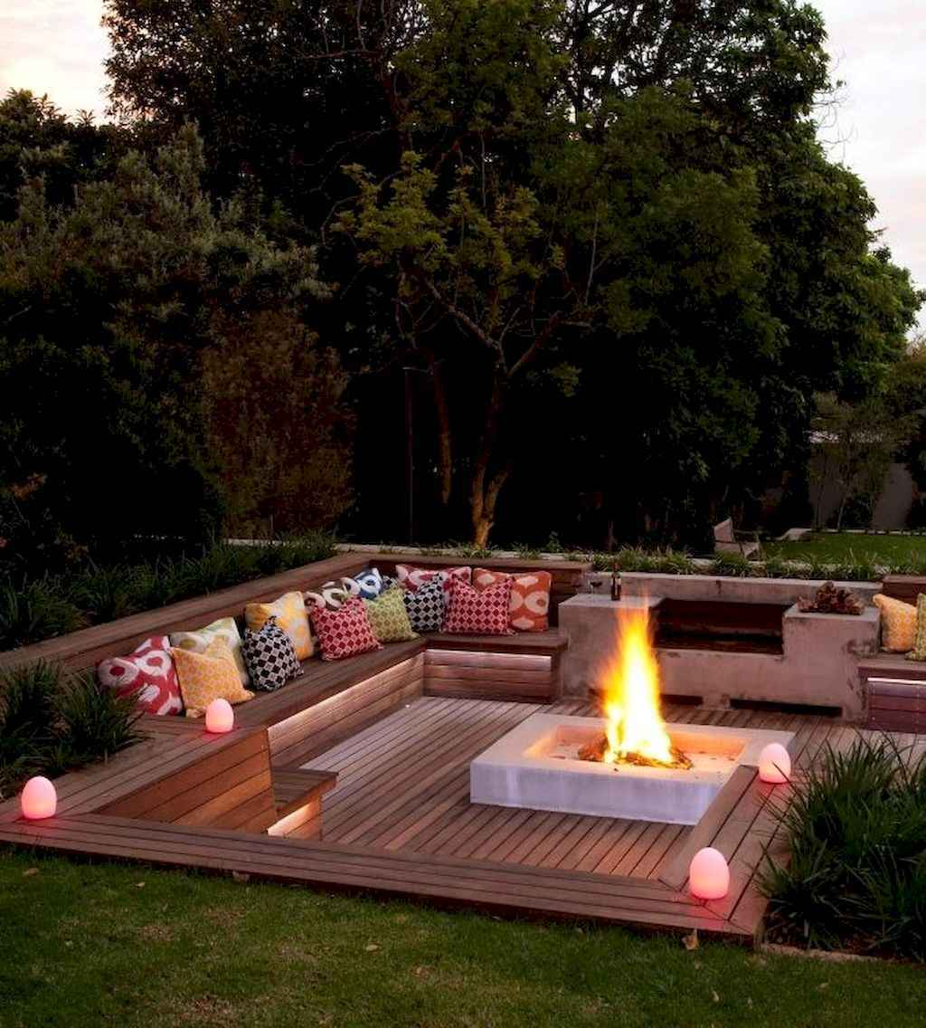 47 easy diy fire pit ideas for backyard landscaping