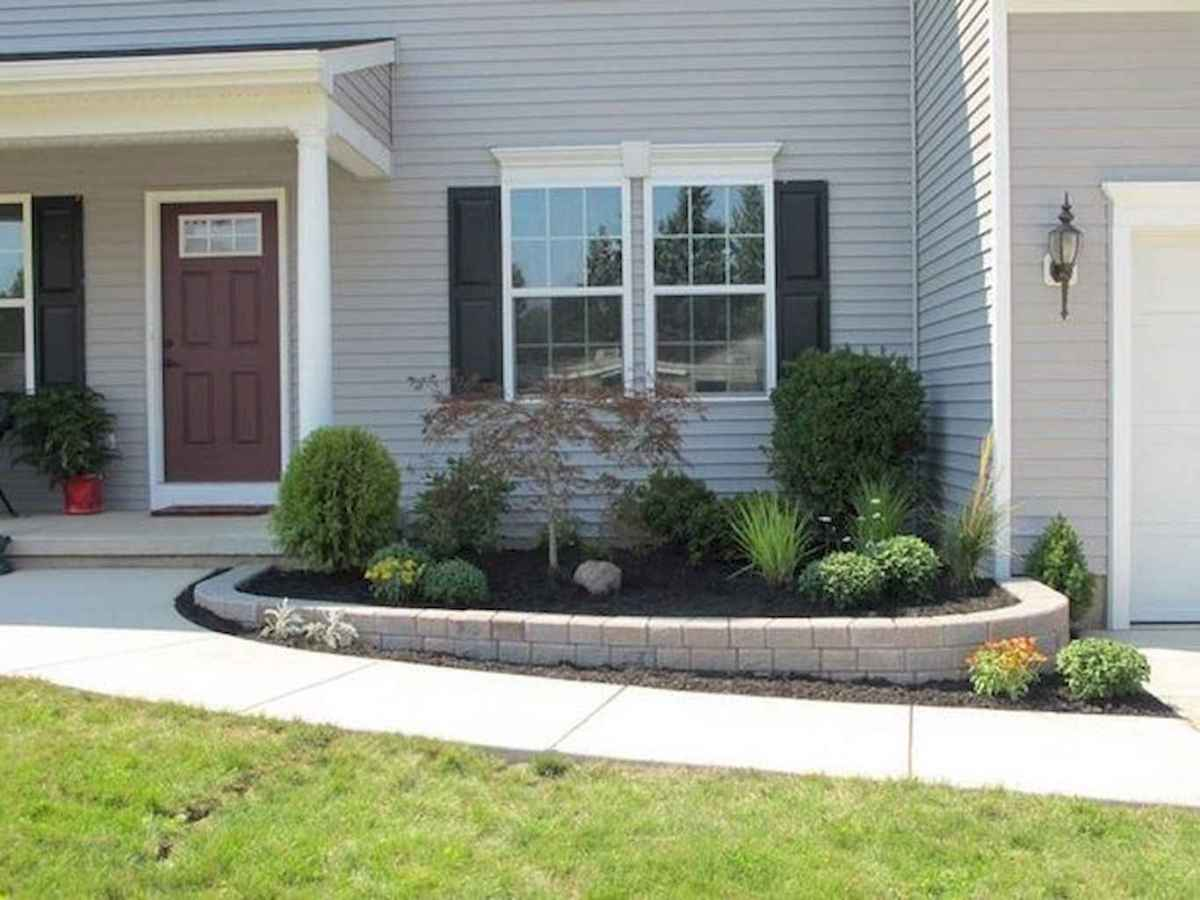 51 low maintenance front yard landscaping ideas