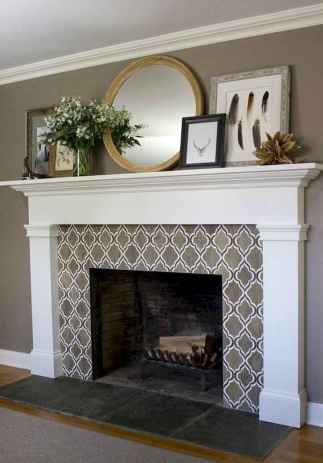 52 small fireplace makeover decor ideas