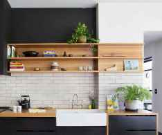 59 rustic kitchen decor with open shelves ideas