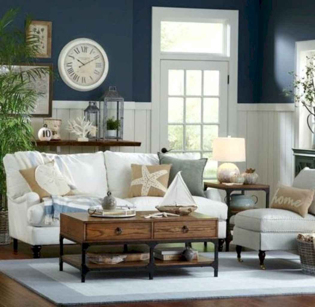60 incredible coastal living room decorating ideas