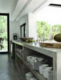 61 rustic kitchen decor with open shelves ideas
