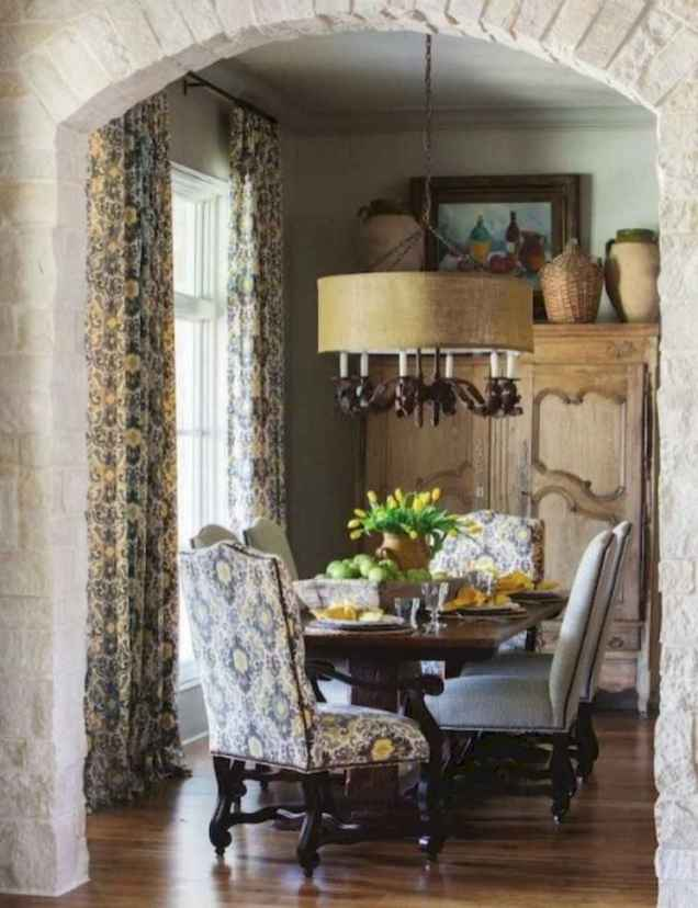 80 fancy french country dining room decor ideas
