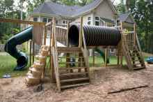 14 diy playground project ideas for backyard landscaping
