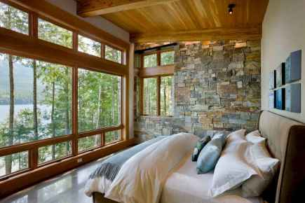 44 rustic lake house bedroom decorating ideas