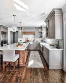 45 modern farmhouse kitchen cabinets makeover ideas